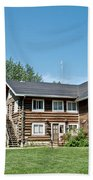 Rika's Roadhouse In Big Delta State Historical Park-ak Beach Towel