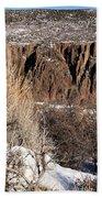 Rim Of The Black Canyon Beach Towel