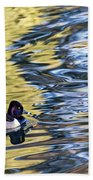 Ring-neck Reflections Beach Towel