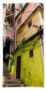 Rio De Janeiro Brazil -  Favela Housing Beach Towel