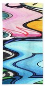 Rippled Beach Towel
