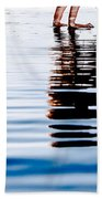 Rippled Reflection Beach Towel