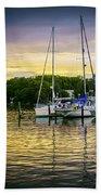 Ripples At Sunset Beach Sheet