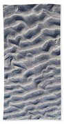 Ripples In The Sand And Surf Beach Towel