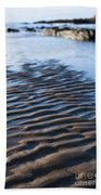 Ripples In The Sand Beach Towel