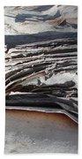 Ripples Of Waves Beach Towel