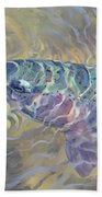 Rainbow Rising Beach Towel