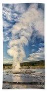 Rising Steam Beach Towel