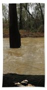 Rising Waters With Timber Beach Towel