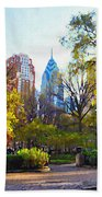 Rittenhouse Square In The Spring Beach Sheet