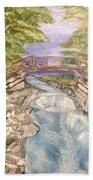 River Bridge Beach Towel