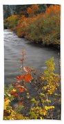 River Color Beach Towel