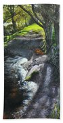 River Dee At Rhug Beach Towel