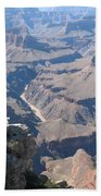 River Deep - Mountain High - Grand Canyon And Colorado River Beach Towel