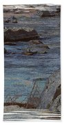 River Flows Beach Towel