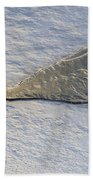 River Ice Star Beach Towel