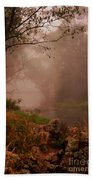 River Mist On A Mystical Morning Beach Towel