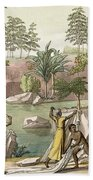 River Near San Benedetto, Madagascar Beach Towel