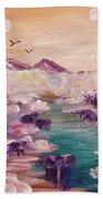 River Of Light Beach Towel