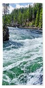 River Power Beach Towel