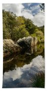 River Reflections II Beach Towel