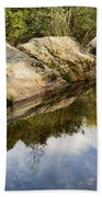 River Reflections IIi Beach Towel by Marco Oliveira