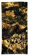 River Rock Reflections Beach Towel