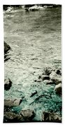 River Rocked Beach Towel by Susan Maxwell Schmidt