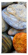 River Rocks 1 Beach Towel