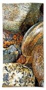 River Rocks 11 Beach Towel