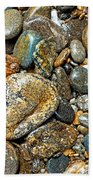 River Rocks 14 Beach Towel