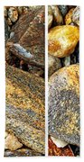 River Rocks 16 In Stereo Beach Towel