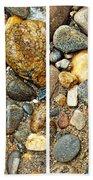 River Rocks 17 In Stereo Beach Towel