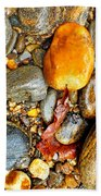 River Rocks 8 Beach Towel
