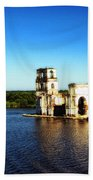 River Ruins Beach Towel