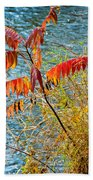 River Sumac Beach Towel