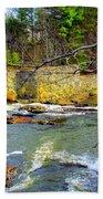 River Wall Beach Towel