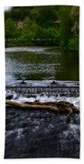 River Wye - In Peak District - England Beach Towel