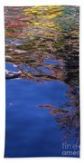 Riverwalk Refletion Beach Towel