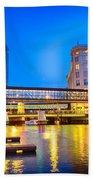 Riverwalk Shimmer Beach Towel