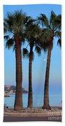 Riviera Romance Beach Towel