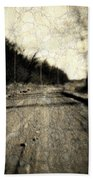 Road Of The Past Beach Towel