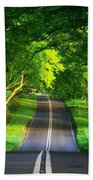 Road Pictures Beach Towel