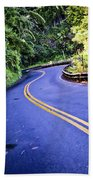 Road To Hana Beach Towel