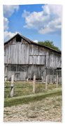 Road To The Barn - Featured In Old Building And Ruins Group Beach Towel