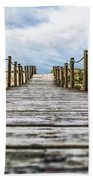Road To The Dunes Beach Towel