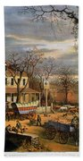 Roadside Inn, 1872 Beach Towel