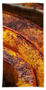 Roasted Pumpkin Beach Towel