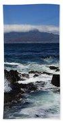 Robben Island View Beach Towel
