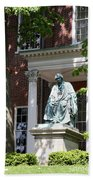 Robert Brooke Taney Statue - Maryland State House  Beach Towel